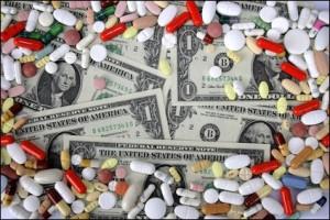 prescription medications and money