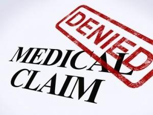 Medical claim denial