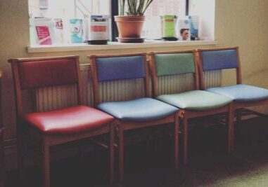 medical office waiting room